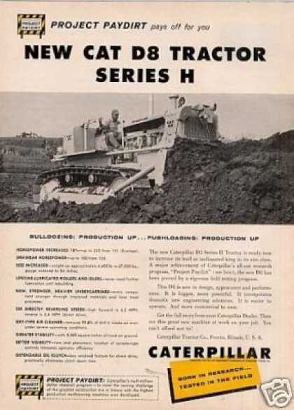 Caterpillar D8 Series H Tractor (1959)