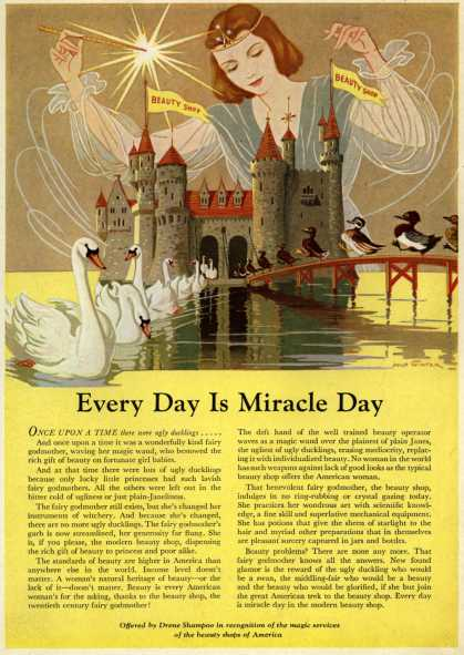 Procter & Gamble Co.'s Drene Shampoo – Every Day Is Miracle Day (1938)