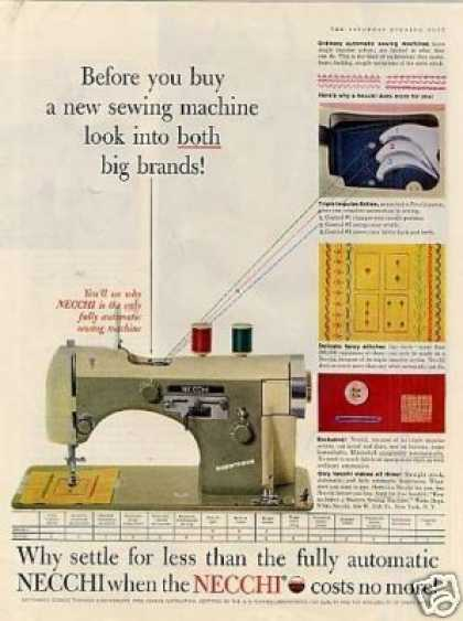 Necchi Sewing Machine (1957)