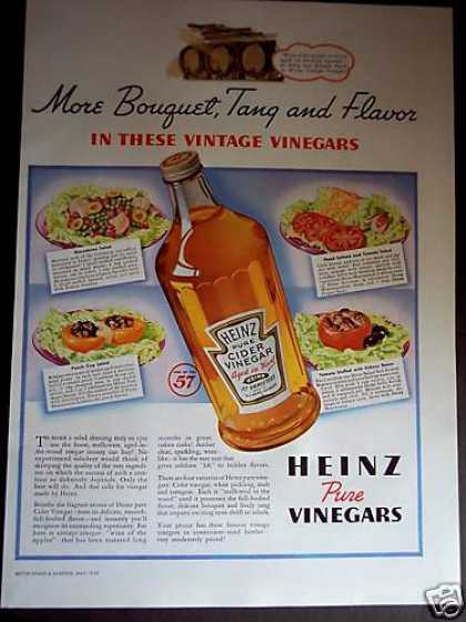 Heinz 57 Vineger Salad Recipe (1939)