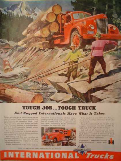 International Trucks Logger Logging Theme (1946)