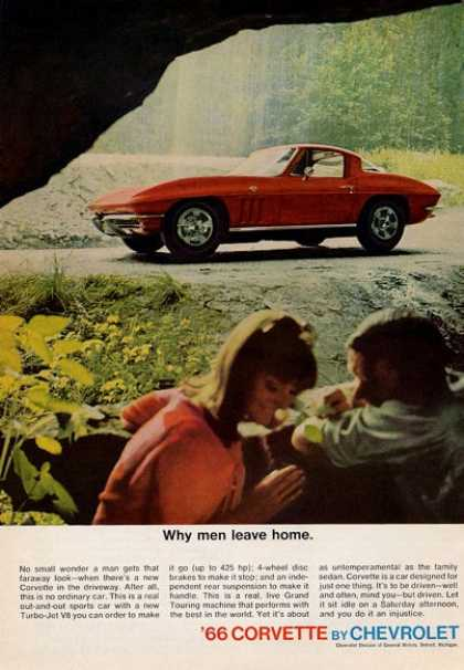 '66 Corvette Why Men Leave Home.... Red (1965)