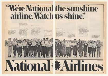 National Airlines Sunshine Crew Photo 2-Page (1977)