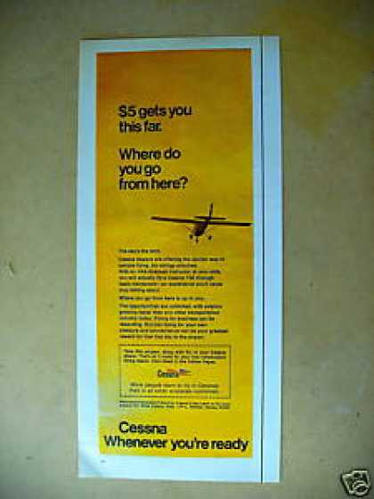 Cessna Flying Lessons (1970)
