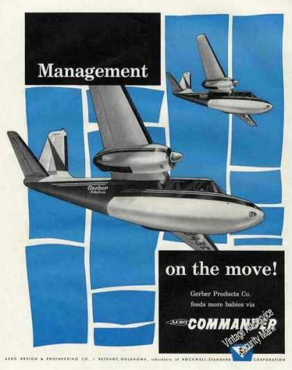 Aero Commander Photo Gerber On the Move (1960)