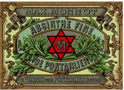 Absinthe Monnot Label – Masonic Distiller