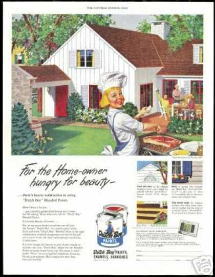 Dutch Boy Home BBQ Vintage Paint (1951)