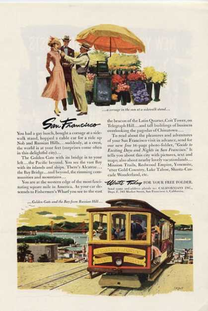 '53 San Francisco Bay Travel Trolley T (1953)