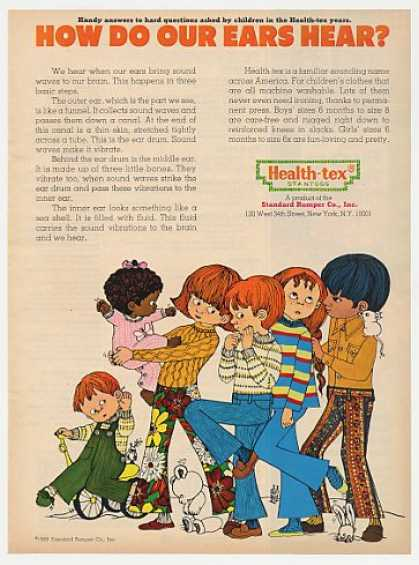 How Do Ears Hear Health-tex Children's Clothes (1969)