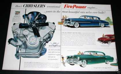 Chrysler Fire Power V-8 Engine (1951)