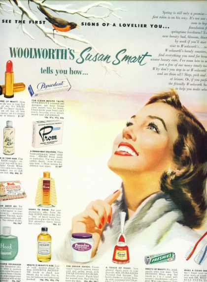 F. W. Woolworth Susan Smart Toiletries C (1955)