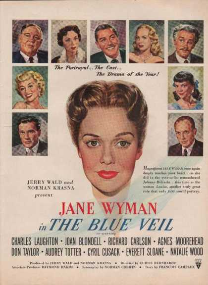 "Jane Wyman ""The Blue Veil"" Movie (1951)"