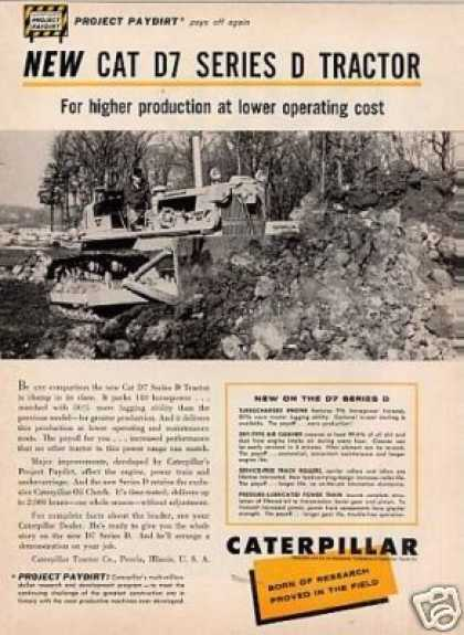 Caterpillar D7 Series D Tractor (1959)