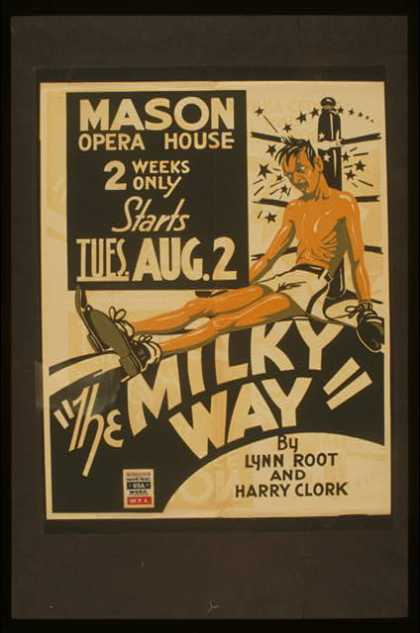 """The milky way"" by Lynn Root and Harry Clork. (1938)"