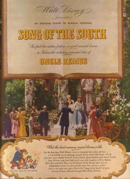 Song of the South (Br'er Bear, Br'er Fox and Br'er Rabbit) (1946)
