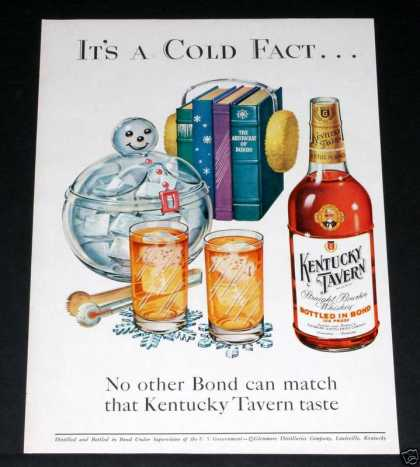 Kentucky Tavern Whiskey, Xmas (1952)