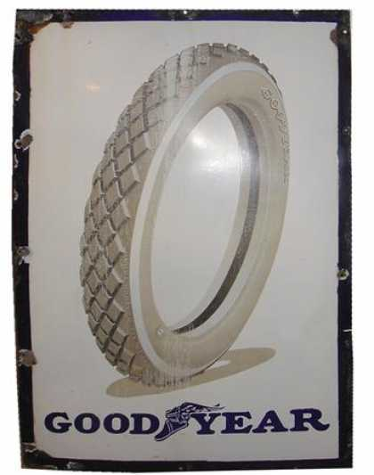 Goodyear Tyres Sign