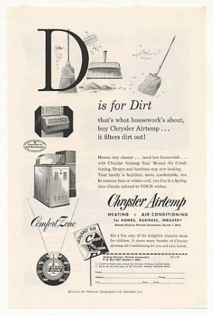 Chrysler Airtemp Air Conditioning D is for Dirt (1953)