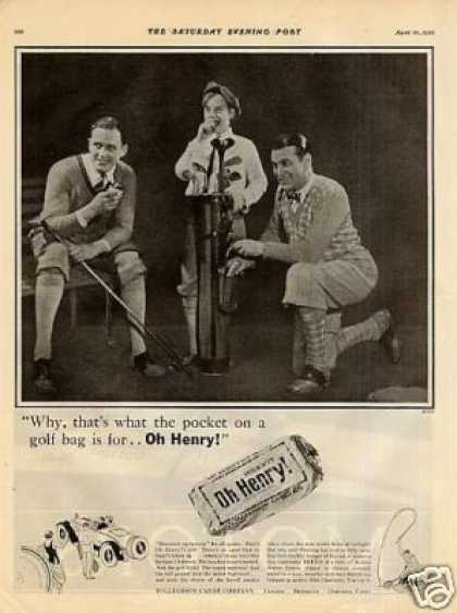 Oh Henry Candy Bar (1926)