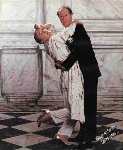 Glenn Close & Don Ameche Impressive Print Photo (1989)