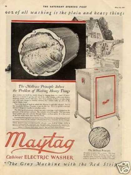 Maytag Electric Washer Color (1921)