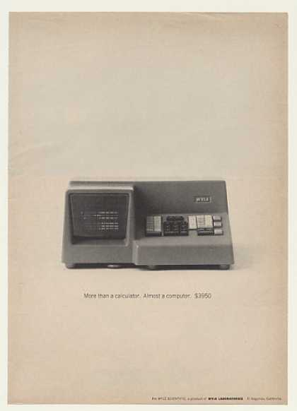 '64 Wyle Laboratories Scientific Calculator Computer (1964)