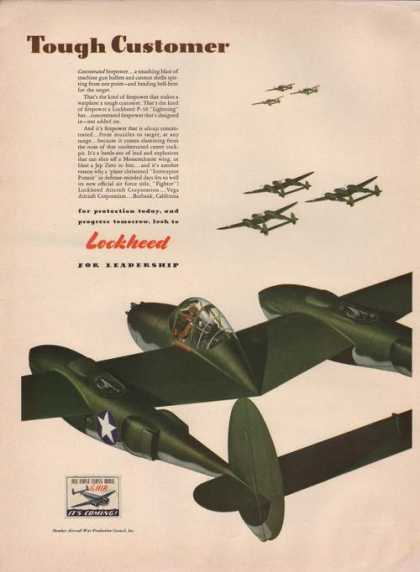 Lockheed for Leadership Airplanes (1942)