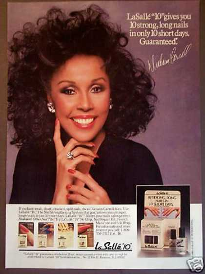 Diahann Carroll Big Hair Photo Lasalle (1988)