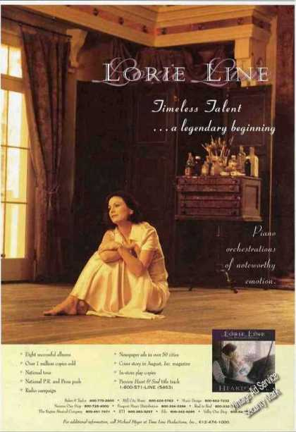 Lorie Line Photo Piano Orchestrations (1995)