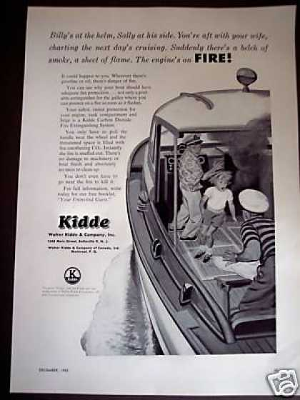 Kidde Fire Extinguisher for the Boat (1953)
