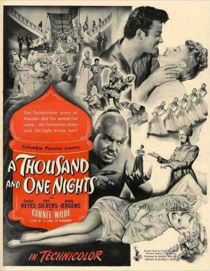 """A Thousand and One Nights"" Movie (1945)"
