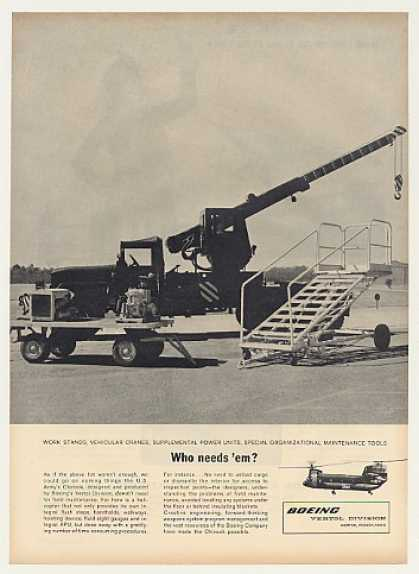 Boeing US Army Chinook Helicopter Not Needed (1963)