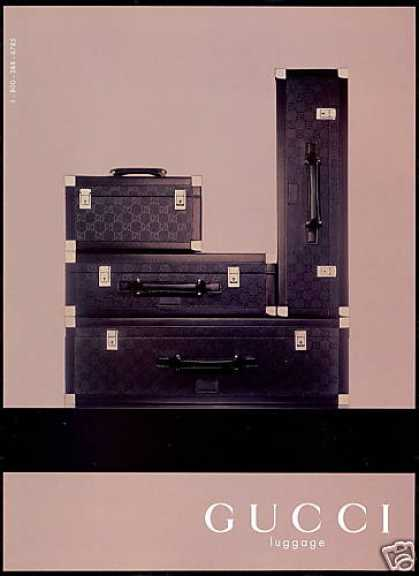Gucci Luggage Photo (1998)