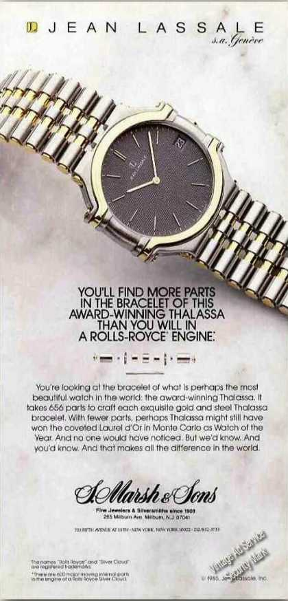 Award-winning Thalassa Watch By Jean Lassale (1986)