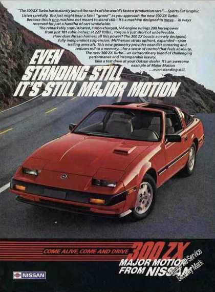"Nissan 300 Zx Turbo ""Major Motion"" (1984)"