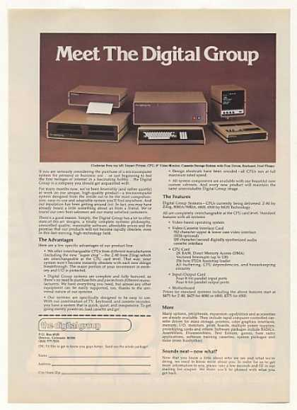 Digital Group Computer System (1977)