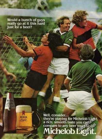 Michelob Light Beer Soccer Theme (1982)