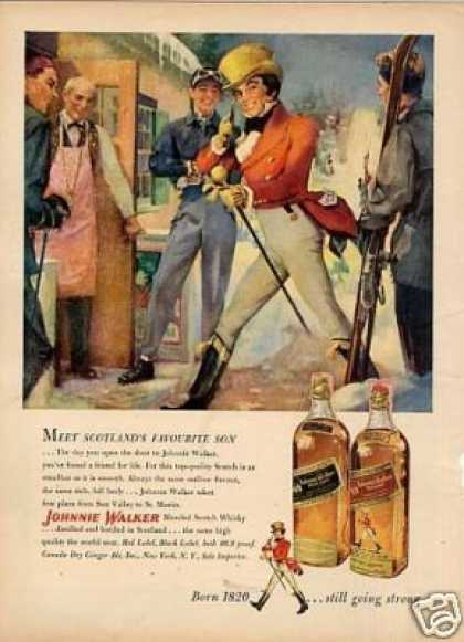 Johnnie Walker Scotch Whisky (1952)