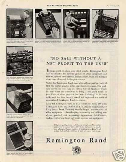 Remington Rand Business Machines (1934)