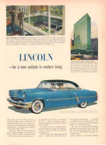 Lincoln Cosmopolitan Car – Two Tone Blue (1951)