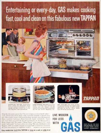 Tappan Gas Oven (1961)