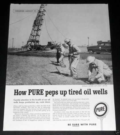 Old , Pure Oil, Portable Well (1959)