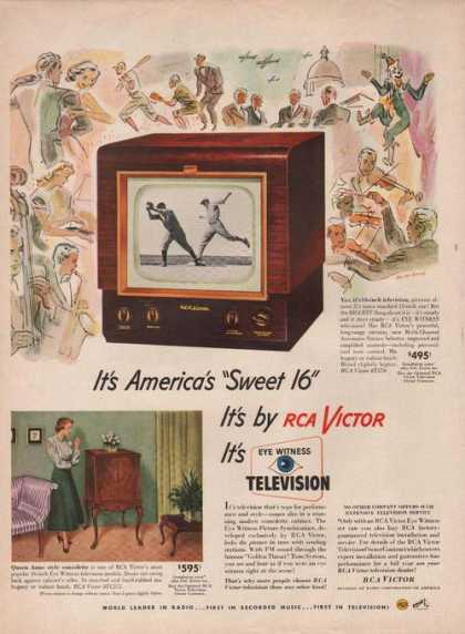 Rca Victor Television Table Top (1949)