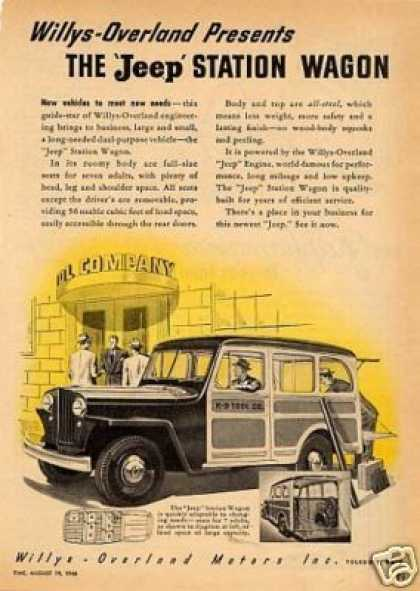 Willys-overland Jeep Station Wagon (1946)