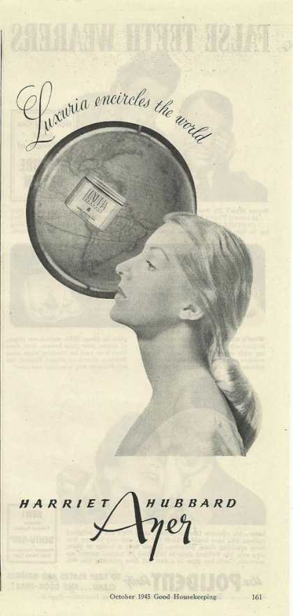 Harriet Hubbard Ayer Face Cleaner (1945)