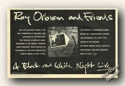 Roy Orbison and Friends Album Promo (1989)