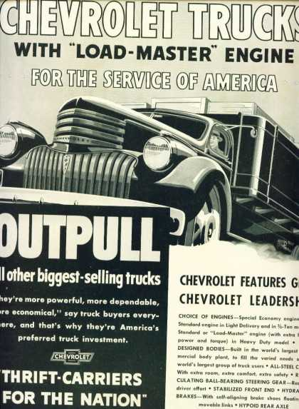 Chevrolet Trucks Load Master Engine (1941)
