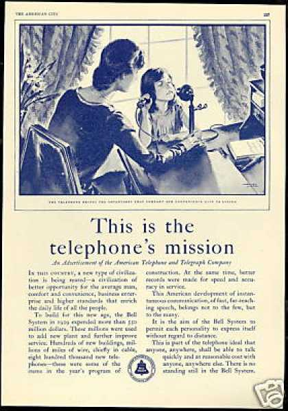 American Telephone & Telegraph Co Vintage (1930)