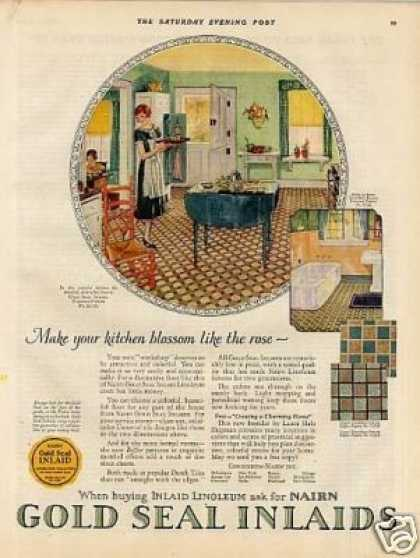 Nairn Linoleum Color (1926)