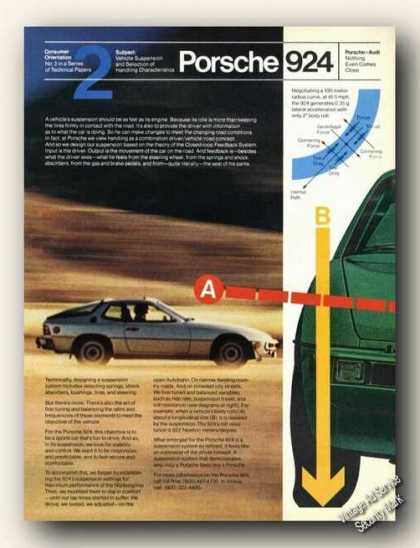 Porsche 925 Vehicle Suspension Promo Cars (1979)
